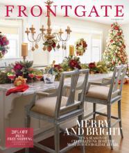 FRONTGATE 2016年国外节日家居目录-1772813_工艺品设计杂志