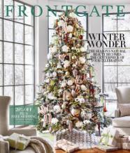 FRONTGATE 2016年国外节日家居目录-1780815_工艺品设计杂志