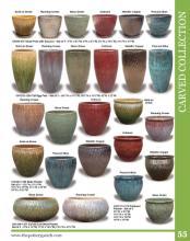 Pottery 2018年欧美室内花园陶瓷花盆设计目-1962480_工艺品设计杂志