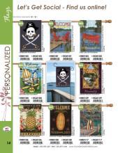 TOL 2017花园节日旗帜素材-1862167_工艺品设计杂志