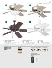 craftmade fans 2017年欧美室内风扇灯设计-1874890_工艺品设计杂志