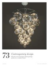Chandeliers 2017年欧美室内水晶蜡烛吊灯设-1929441_工艺品设计杂志