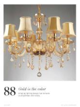 Chandeliers 2017年欧美室内水晶蜡烛吊灯设-1929457_工艺品设计杂志