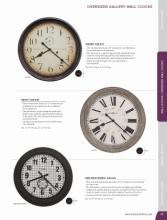 Howard 2017年欧美室内时钟设计画册。-1915819_工艺品设计杂志