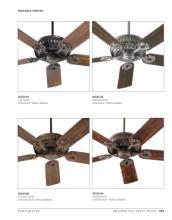 quorum 2017年欧美室内风扇灯设计素材。-1931528_工艺品设计杂志