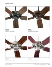 quorum 2017年欧美室内风扇灯设计素材。-1931581_工艺品设计杂志