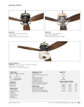 quorum 2017年欧美室内风扇灯设计素材。-1931689_工艺品设计杂志
