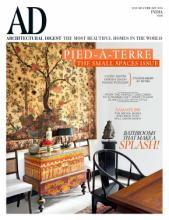AD Architectural Digest 2018年欧洲家居家-2221956_工艺品设计杂志