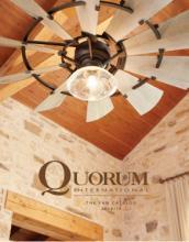 quorum 2018年欧美室内风扇灯设计素材。-2029533_工艺品设计杂志