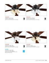 quorum 2018年欧美室内风扇灯设计素材。-2029626_工艺品设计杂志