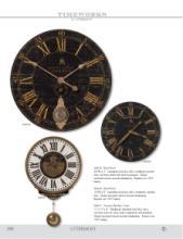 Uttermost Clocks 2018时钟目录-2036072_工艺品设计杂志
