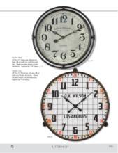 Uttermost Clocks 2018时钟目录-2036080_工艺品设计杂志