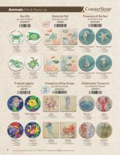 Coaster Stone 2018最新流行花纹设计素材-2036684_工艺品设计杂志