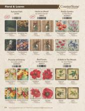 Coaster Stone 2018最新流行花纹设计素材-2036696_工艺品设计杂志