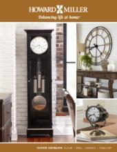 Howard 2018年欧美室内时钟设计画册。-2055442_工艺品设计杂志
