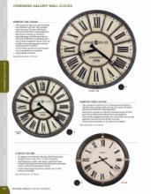 Howard 2018年欧美室内时钟设计画册。-2055545_工艺品设计杂志