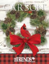 Carson 2018家居圣诞工艺品目录-2055802_工艺品设计杂志