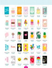 Rock flower paper 2018国外流行花纹设计目-2103246_工艺品设计杂志