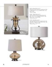 Uttermost 2019古典台灯设计目录-2268971_工艺品设计杂志
