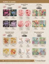 CoasterStone 2019最新流行花纹设计素材-2269456_工艺品设计杂志