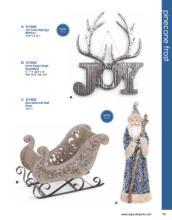 Napco 2019圣诞花园工艺品素材-2279451_工艺品设计杂志