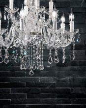 cristallo 2019年欧美室内水晶蜡烛吊灯设计-2342979_工艺品设计杂志