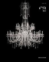 cristallo 2019年欧美室内水晶蜡烛吊灯设计-2342984_工艺品设计杂志