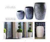 Decor Stone 2020年欧美花园石头花盆设计画-2728853_工艺品设计杂志