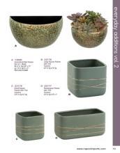 Napco 2020年欧美花园陶瓷花盆设计画册。-2617564_工艺品设计杂志