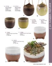 Napco 2020年欧美花园陶瓷花盆设计画册。-2617591_工艺品设计杂志