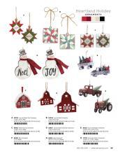Melrose 2021圣诞工艺品目录-2774292_工艺品设计杂志