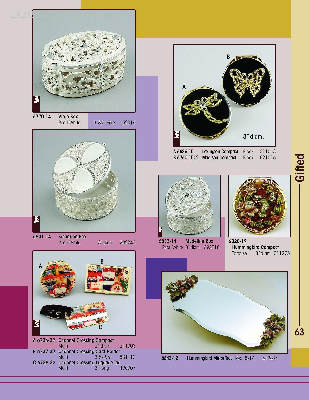 各种相框,珠宝盒_礼品设计
