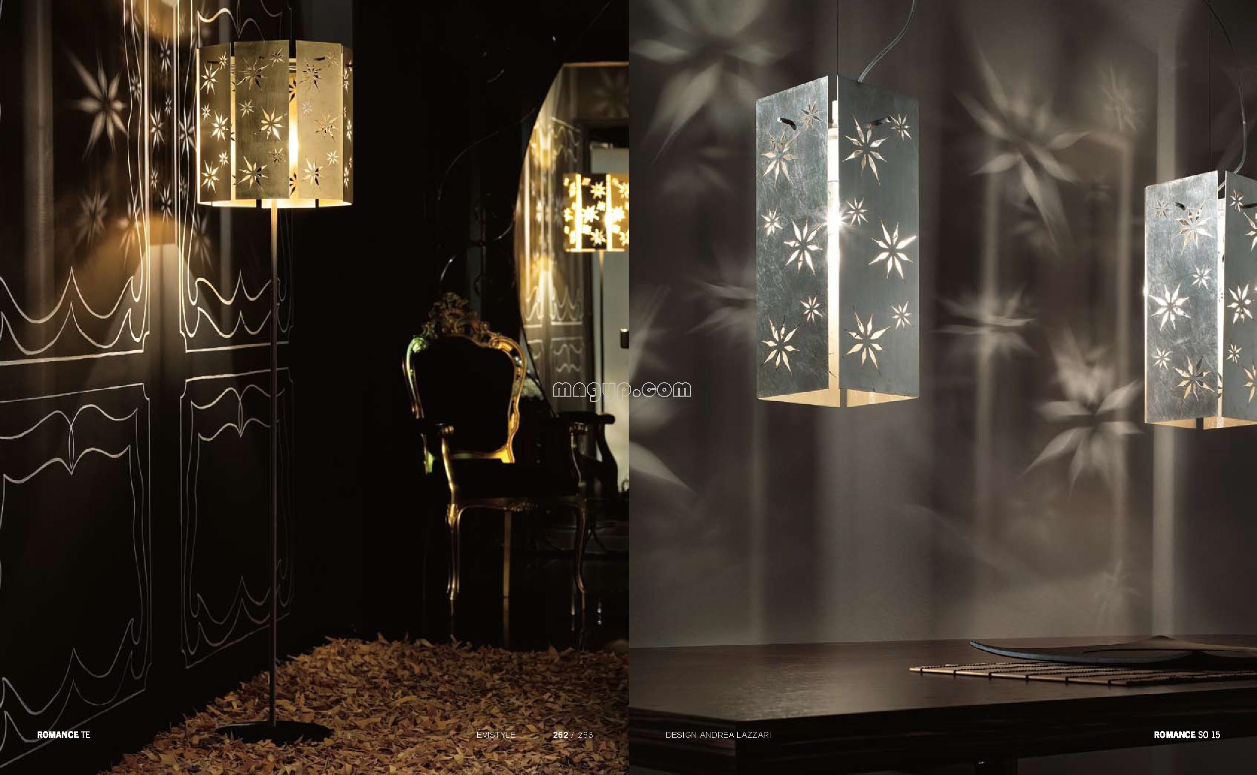 国外现代灯饰设计素材_礼品设计