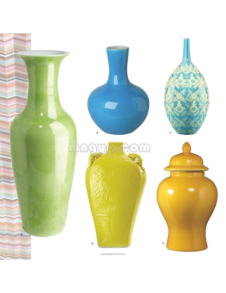 陶瓷花瓶/花插图库_礼品设计