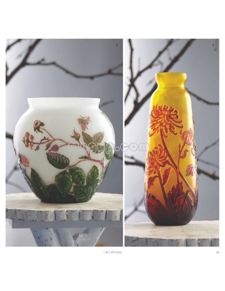 陶瓷花瓶/花缸素材_礼品设计