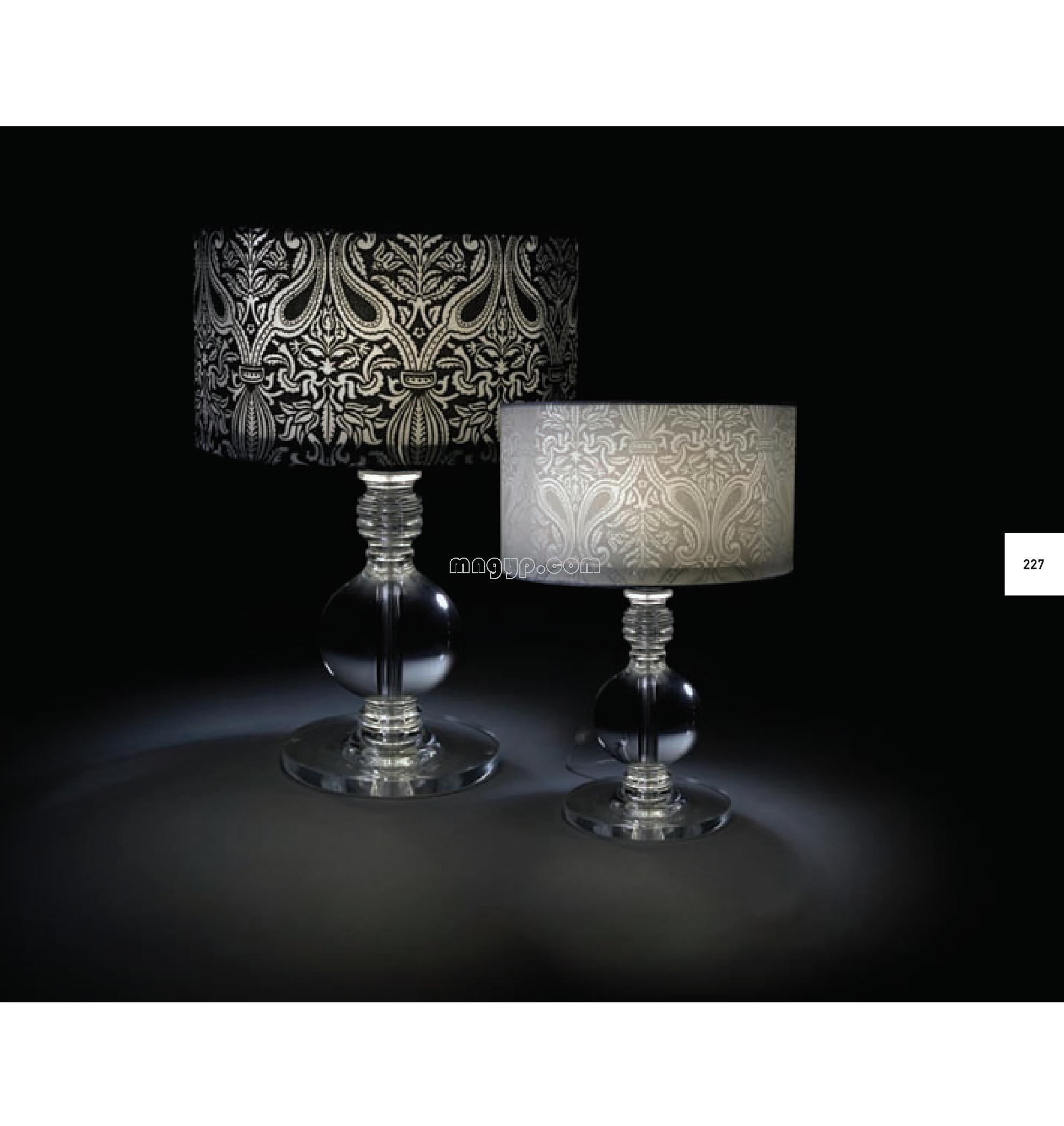 现代台灯设计素材_礼品设计