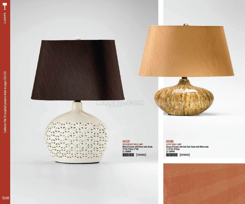 陶瓷台灯素材_礼品设计