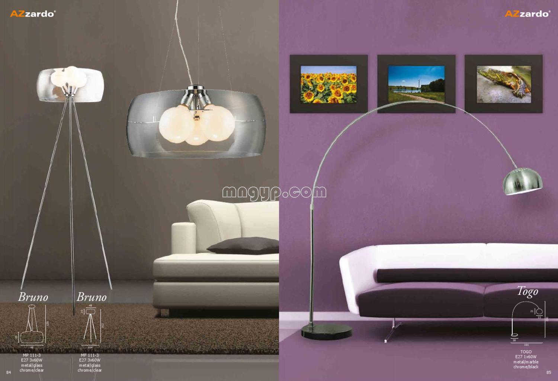 现代简约灯具设计目录_礼品设计
