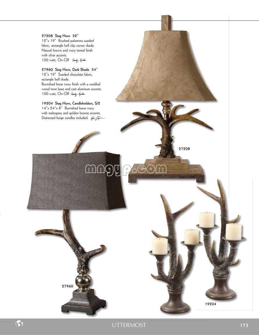 古典台灯设计目录_礼品设计