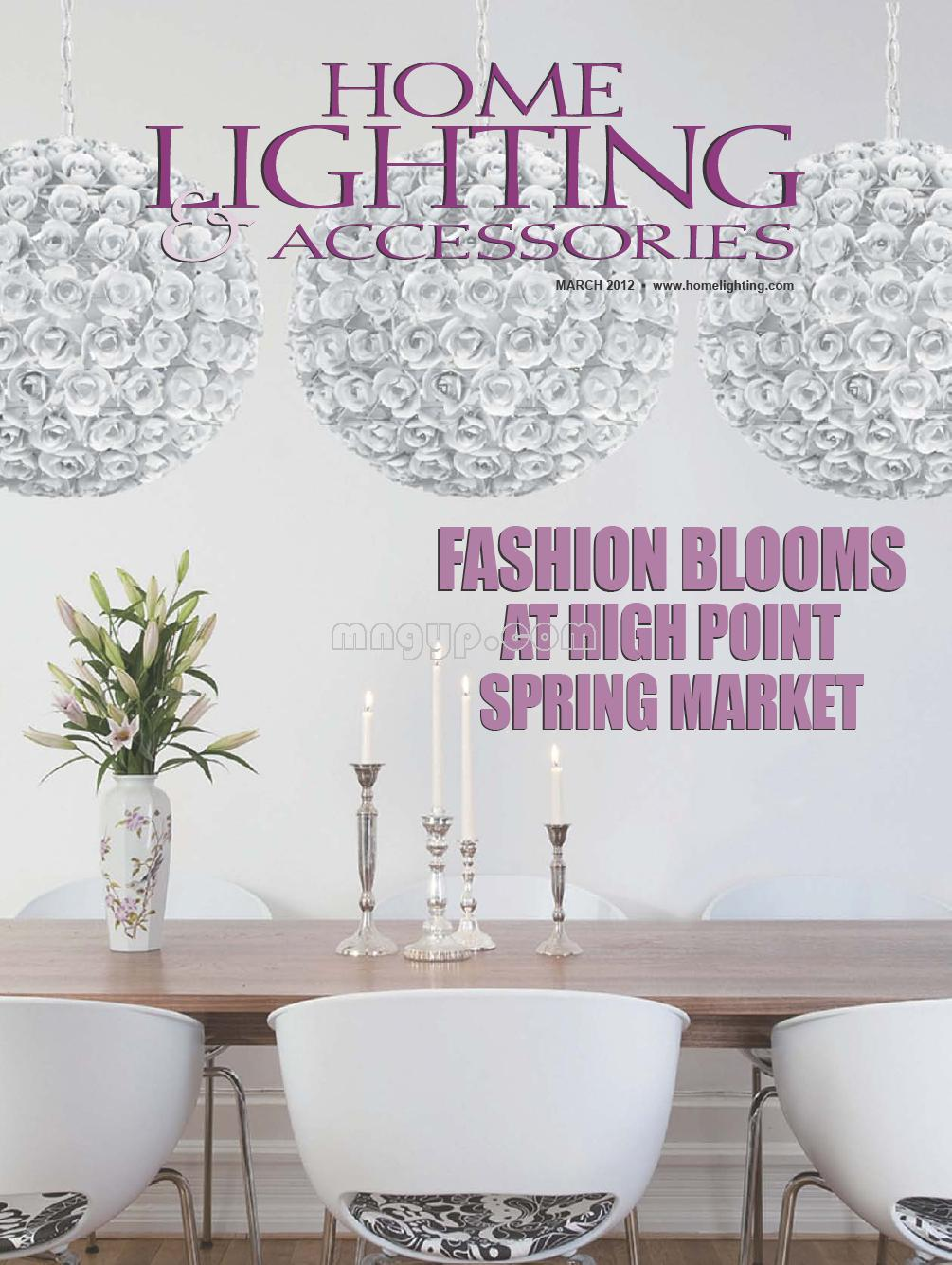 home lighting accessories 2012年3月
