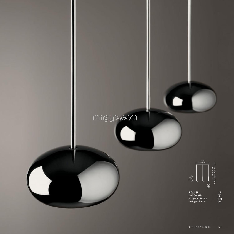 国外灯饰灯具设计素材