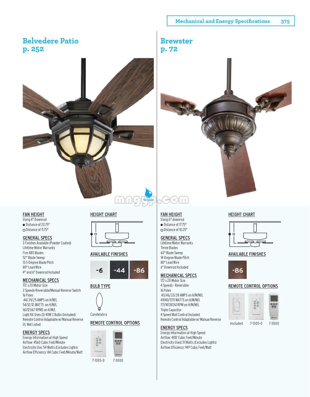 quorum fan 2012年风扇灯设计书籍目录._礼品设计图片