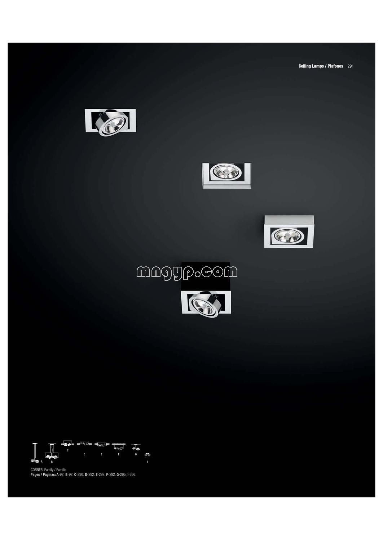 vibia 2013年灯饰灯具设计书籍目录_1062*1500