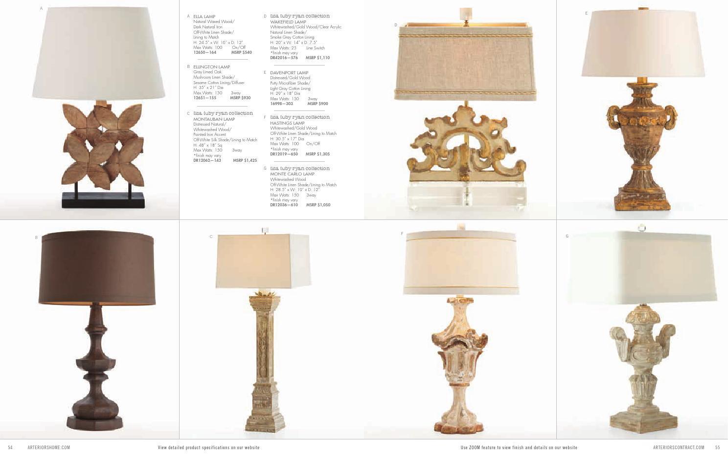 arteriors 2014年现代灯饰灯具设计素材_礼品设计图片