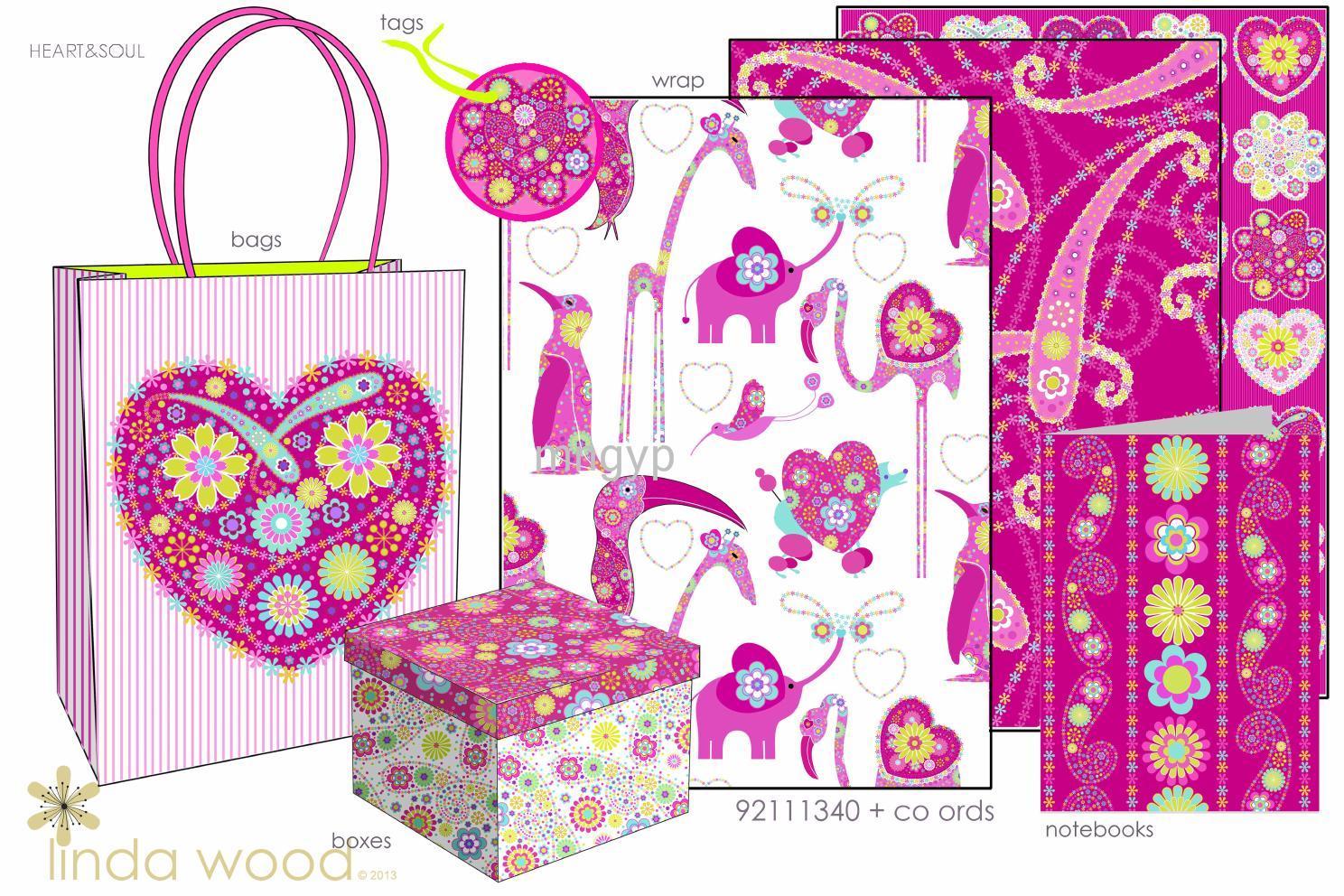 2014最新流行花纹素材_礼品设计