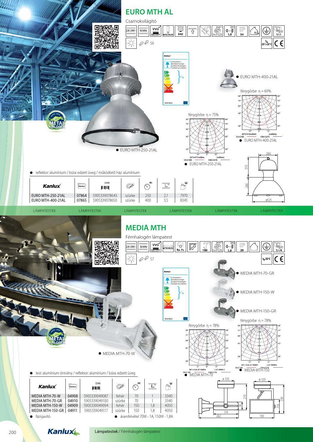 kanlux 2015年led灯设计书籍目录 _礼品设计