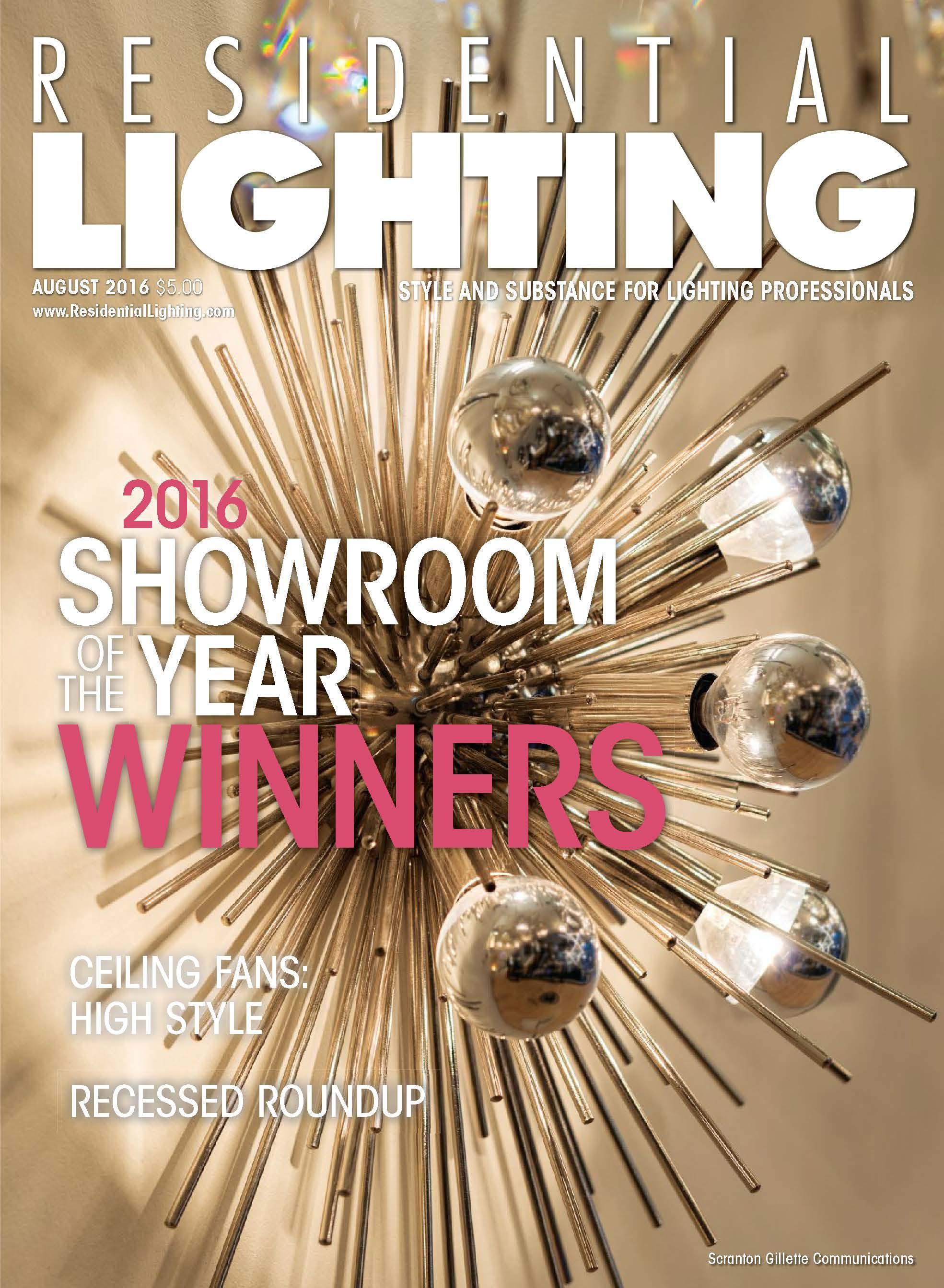 residential lighting 2016年8月份灯饰灯具_礼品设计