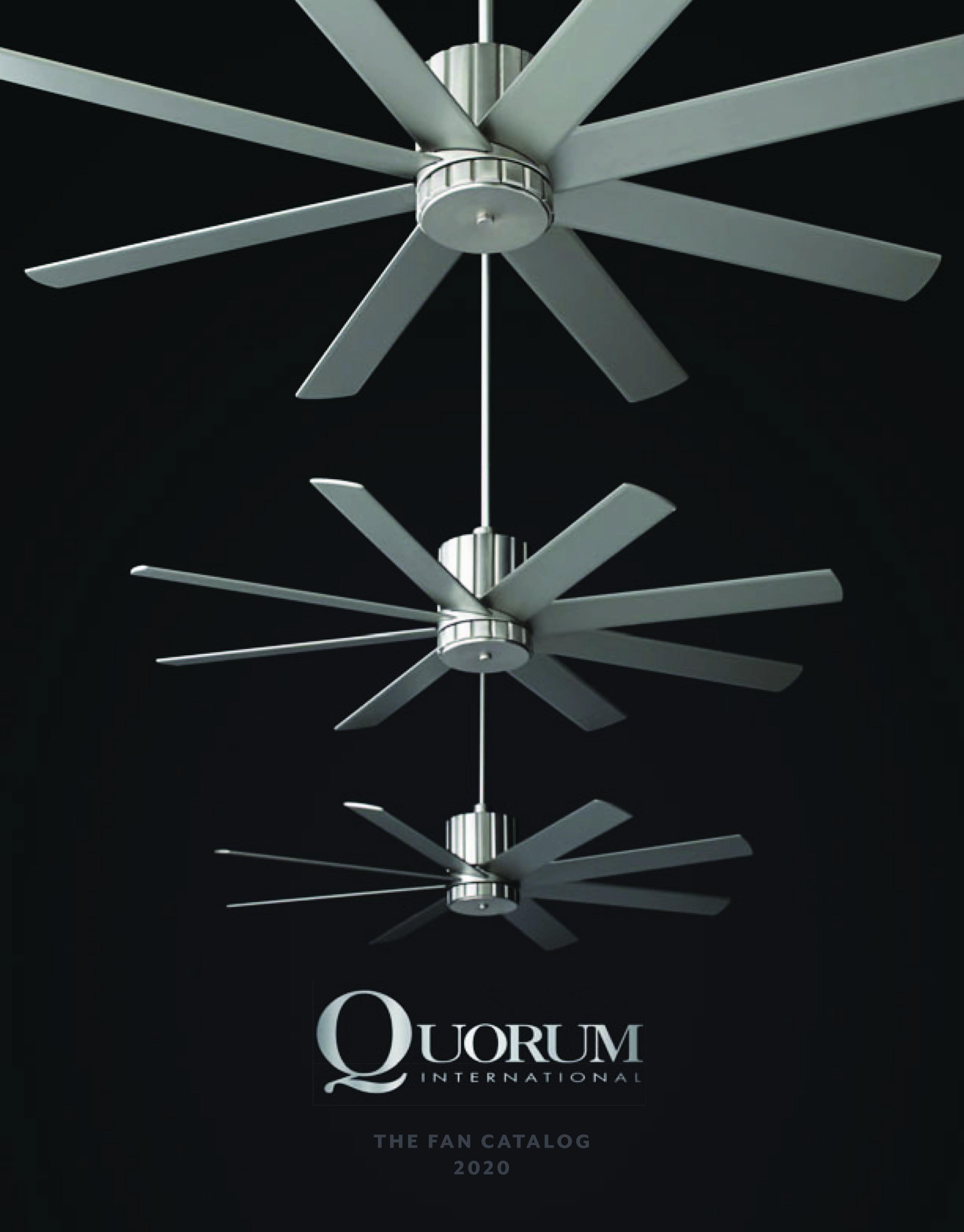 Quorum Ceiling Fan