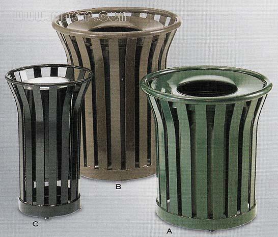 铁艺垃圾桶