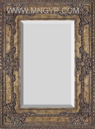 欧式木质雕花镜框